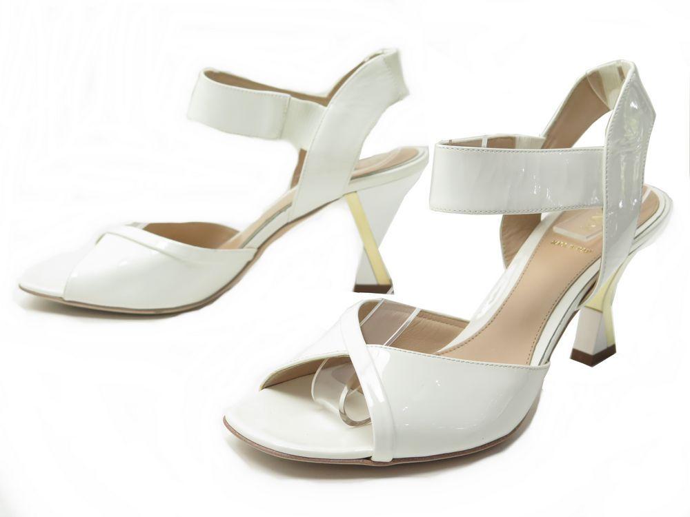 Sandales Talons Fendi Neuf Chaussures 38 Authenticité A It 5 IYbfv7g6y