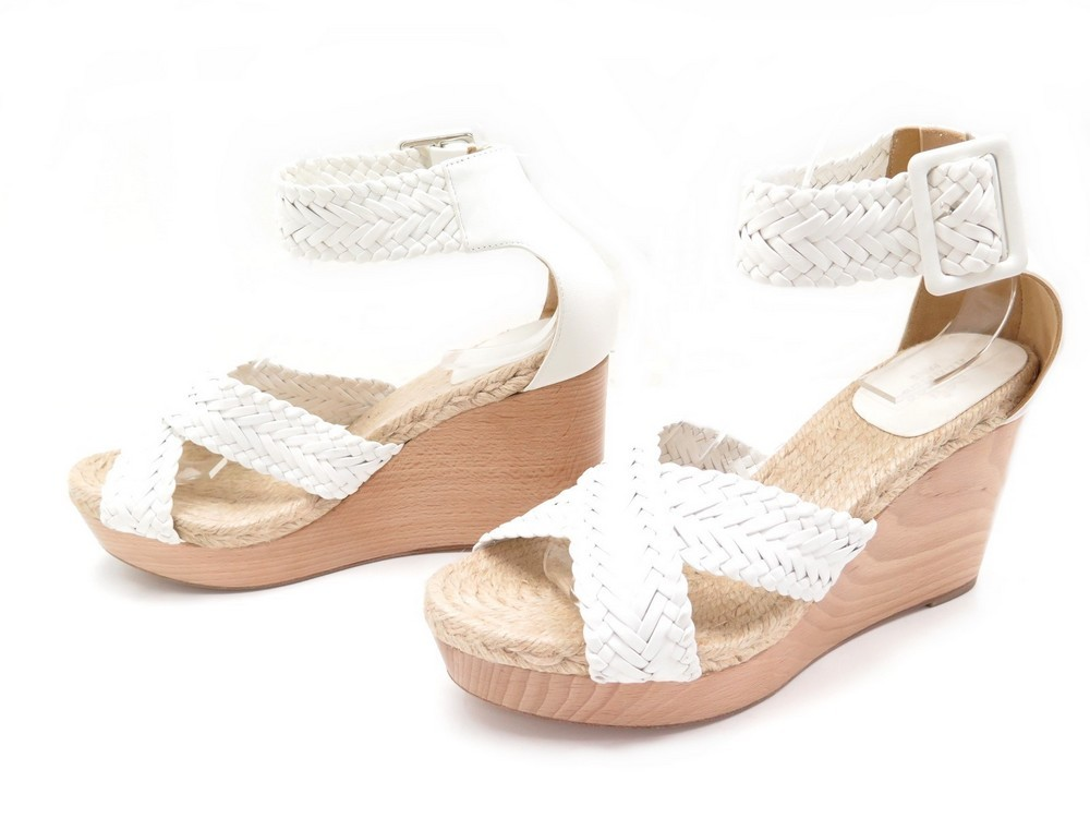 f4bb2068b94 NEUF CHAUSSURES HERMES SANDALES A TALONS COMPENSES.