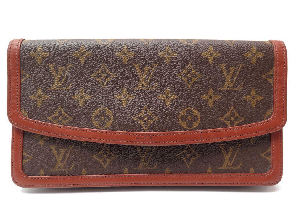 6b8391aa76 Vintage sac pochette a main LOUIS VUITTON dame - Authenticité garantie -  Visible en boutique