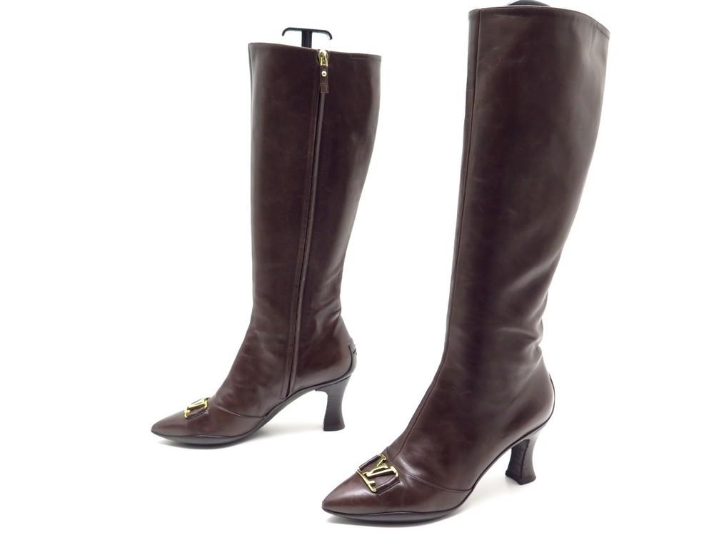 Chaussures LOUIS VUITTON candice bottes a talons - Authenticité garantie -  Visible en boutique d0d9c802061