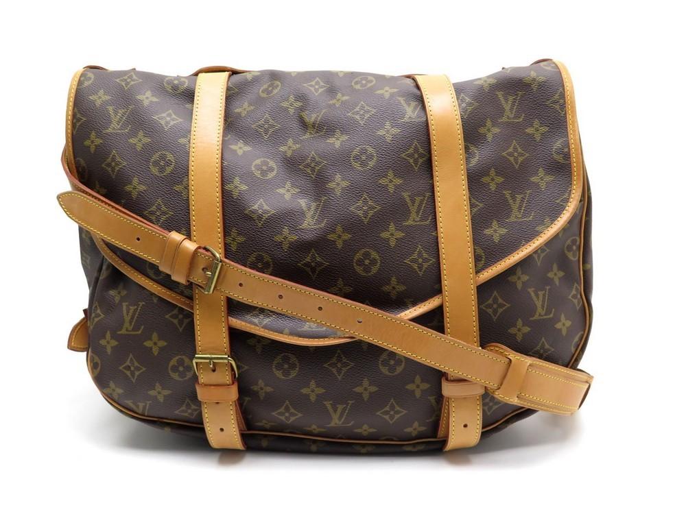 Neuf sac a main LOUIS VUITTON saumur xl toile - Authenticité garantie -  Visible en boutique 8359a4b991a
