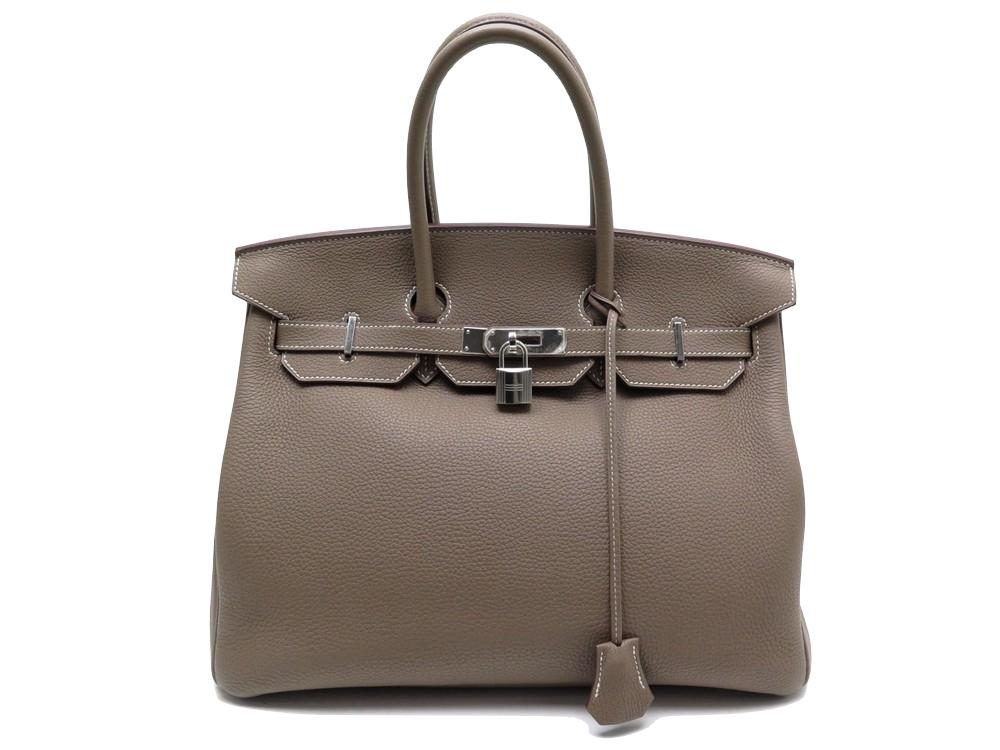 be8658c02a16 Sac a main HERMES birkin 35 en cuir chevre mysore - Authenticité garantie -  Visible en boutique