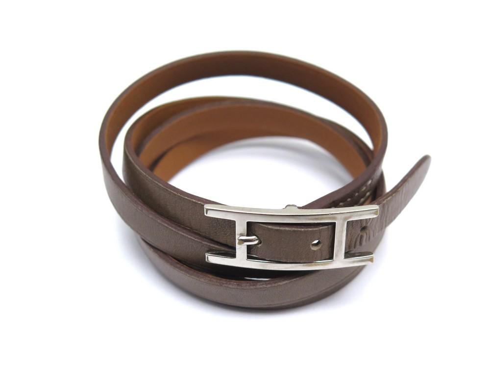 Unisexe Hommes Femmes stretch en cuir tresse elastique boucle de ceinture c D4G7